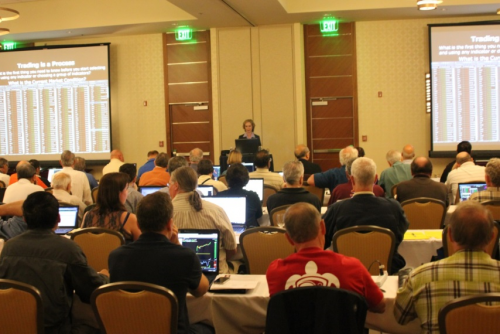 Martha Stokes CMT teaching live at TC2000 seminar