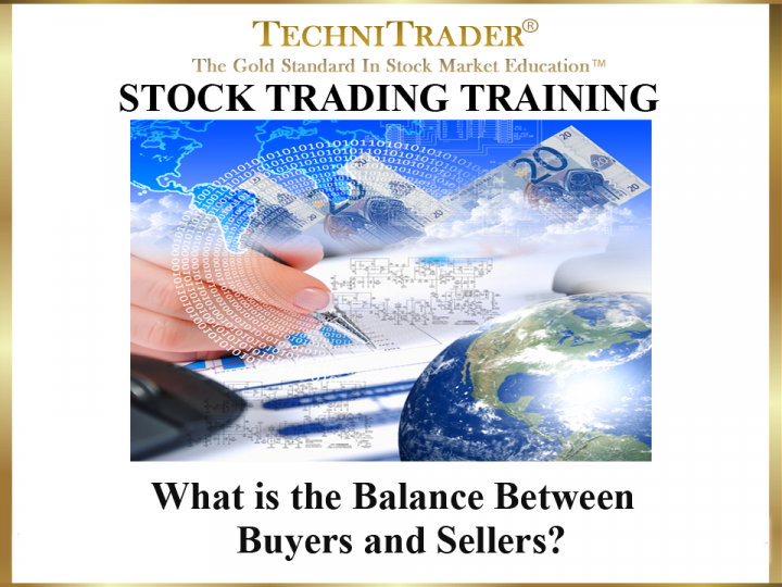 What Is the Balance Between Buyers & Sellers?