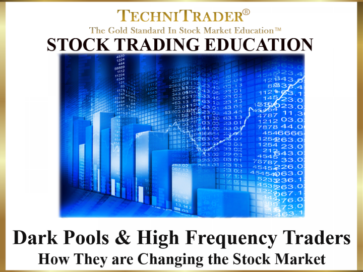 Dark Pools and High Frequency Traders