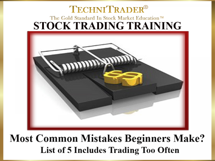 What Are the Most Common Mistakes Beginners Make Trading Stocks?