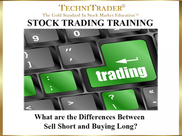 What Are the Differences Between Sell Short & Buying Long?