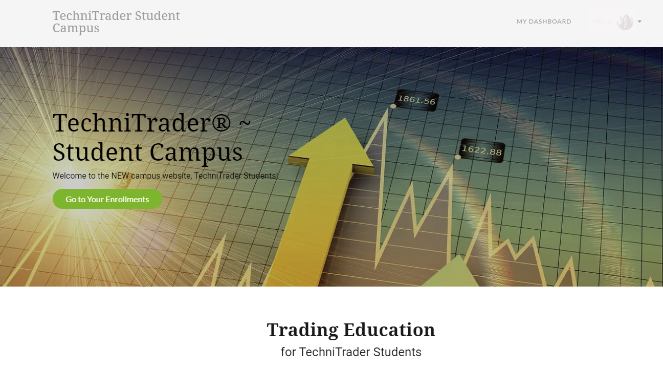 technitrader online campus for students